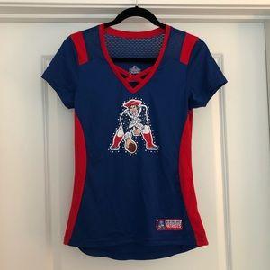 New England Patriots ladies v-neck tee - Small
